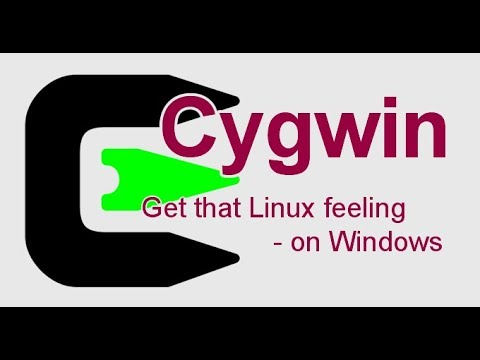 Install Cygwin (Linux terminal) in windows