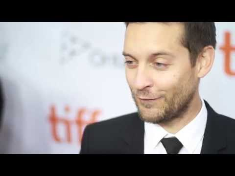 "Tobey Maguire on the Red Carpet Premiere of ""Pawn Sacrifice"""