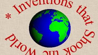 Урок 3 Английский язык 9 класс Великие изобретения