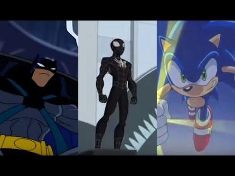 Песня Тук, тук, тук я Человек Паук 2: Человек паук, Бэтмен, Соник