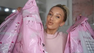 HUGE TRY-ON PRETTY LITTLE THING HAUL | BLACK FRIDAY 2018 | AD