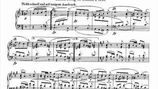 Jörg Demus plays Schumann Album für die Jugend Op.68 - 27.  Kanonisches Liedchen