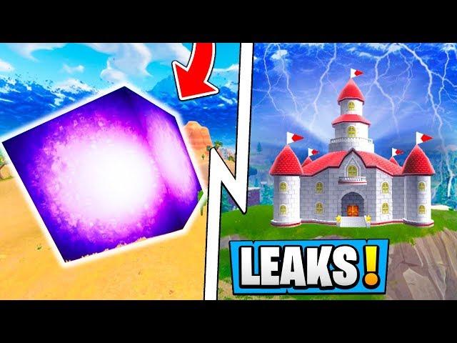 *BIG* Fortnite Leaks! | New Crazy Castle POI, CUBE in Wailing, Custom Skins!