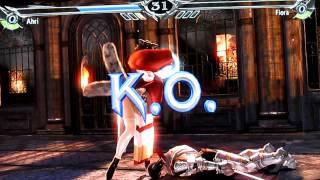 Ahri vs Fiora (LoL x Soul Calibur V)