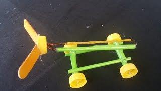 Repeat youtube video วิธีที่จะทำให้ยางรัดขับเคลื่อนรถยนต์ |  รถกระดาษ