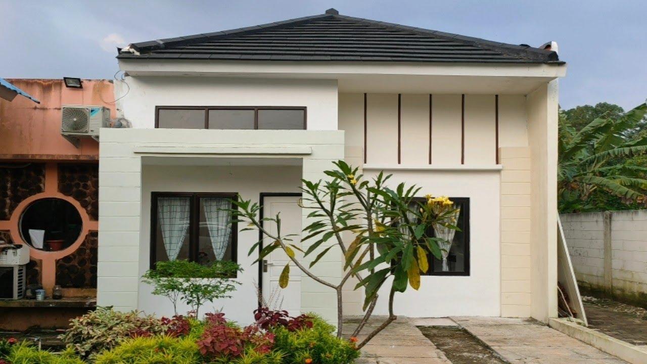 Model baru rumah minimalis type 27/60, inspiratif banget!