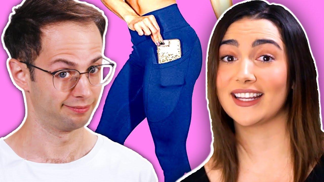 [VIDEO] - The Try Guys Wear Women's Pants (feat. Safiya Nygaard) 5