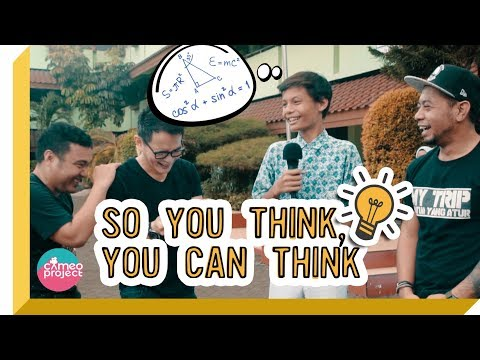 So You Think You Can Think? #5 - CHALLENGE ANAK SMP