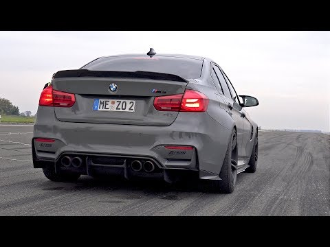 BMW M3 F80 Kotte Performance - BURNOUT & 1/2 MILE RACE!