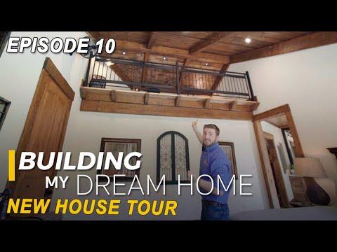 Ep 10 Building My Dream Home - New House Tour, Design Ideas, Tips!