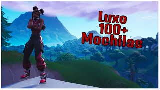 SHOWING THE LUXURY SKIN & 100 + BACKPACKS | FORTNITE