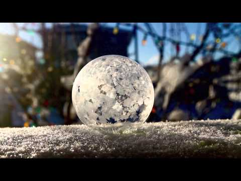 frozen bubbles in calgary