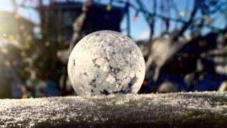 Įspūdinga: šąlantys muilo burbulai ♥ ♥ ♥