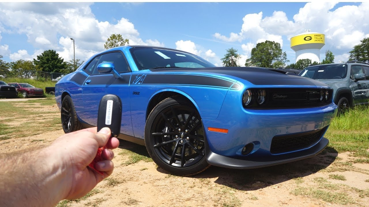 Dodge Challenger T A  Start Up Exhaust Test Drive And Review
