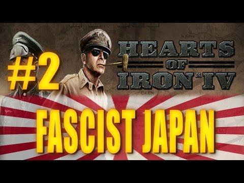 FASCIST JAPAN - Hearts of Iron IV Gameplay #2