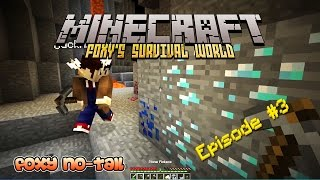 Minecraft Survival - How to Mine for Diamonds in a Ravine [3]