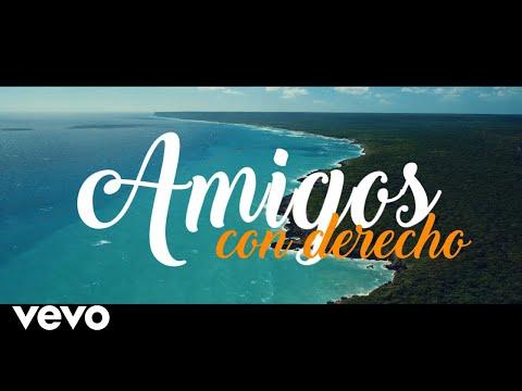 Boni & Kelly - Amigos Con Derecho (Lyric Video) ft. Victor Manuelle