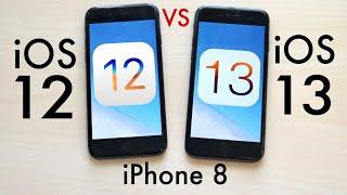 Iphone 8 Ios 13 Vs Ios 12 Comparison