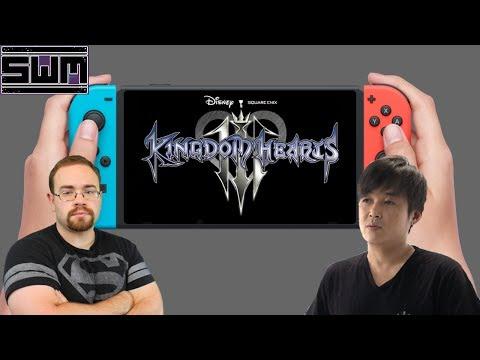 News Wave! - Could Kingdom Hearts III Release On The Nintendo Switch? Tetsuya Nomura Responds