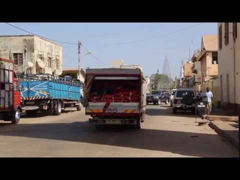 Gambie Centre ville de Banjul / Gambia Banjul City center
