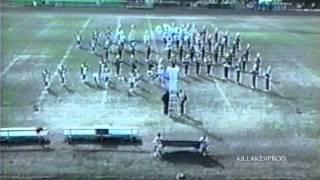 Cass Tech High School Marching Band - Field Show - 1999 #killakevthrowback