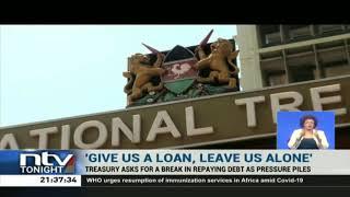 National Treasury seeks moratorium on debt repayment