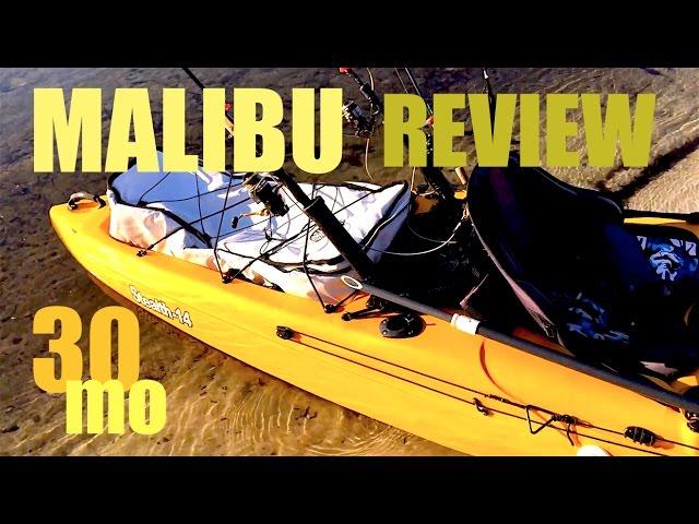 Malibu Stealth 14 Review - kayak fishing pensacola florida