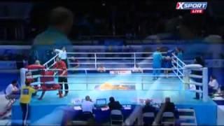 Бокс Чемпионат мира 2013 Казахстан Полуфинал Еллеусинов