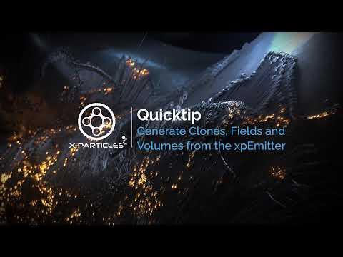 Dragons and Fire C4D TFD Xparticles Krakatoa by Bob Walmsley