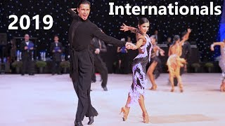 Morten Löwe & Roselina Doneva (DEN) - Internationals 2019 - Professional Latin | R2 Cha-cha-cha