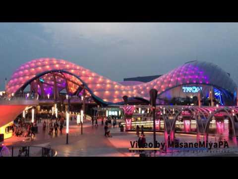 Tomorrowland Ambient Light Show 1 Hour Loop Shanghai Disneyland