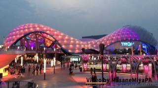 Tomorrowland Ambient Light Show 1 Hour Loop Shanghai Disneyland