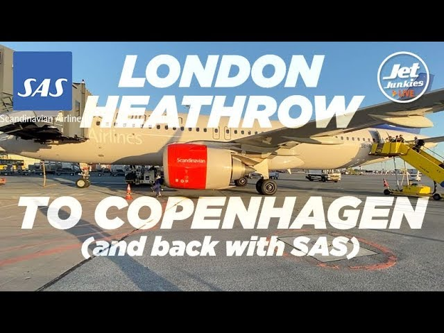 Flying with SAS | London Heathrow to Copenhagen return | A320