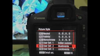 TUTORIAL instal picture style pada kamera canon