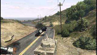 GTA 5: how to steal a Rhino tank from military base Fort Zancudo