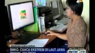 Cuaca Ekstrem Di Laut Jawa, Nelayan Diminta Setop Melaut