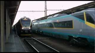 LEO EXPRESS - CZECH PRIVAT TRAIN 1.12.2012