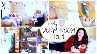 Dorm Room Tour! Thumbnail