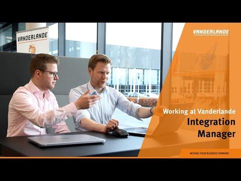 Working as a Integration Manager at Vanderlande