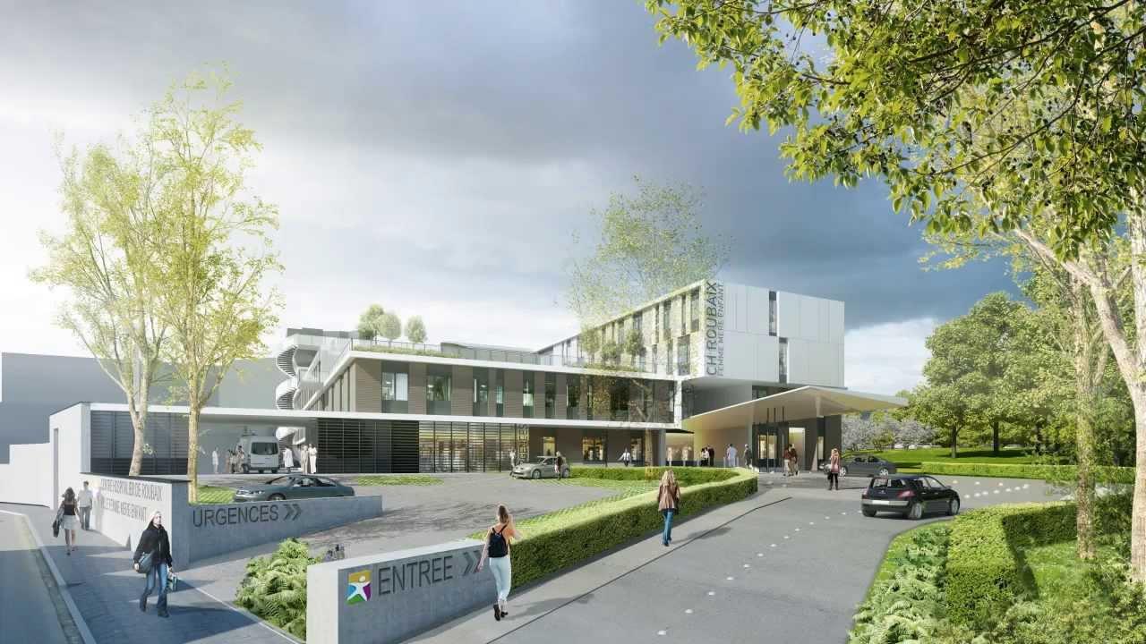 Pr Sentation De La Nouvelle Maternit Du Centre Hospitalier De Roubaix Youtube