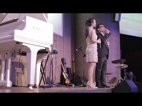 Music of My Heart Launching Album Behind The Scene ( Karina Pramana & Agus Wisman duet )