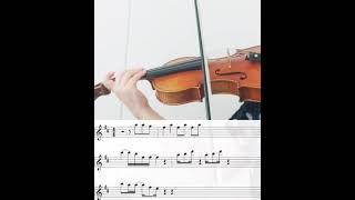 걸스데이 달링 바이올린 악보 연주