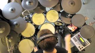 Pantera - Drag the Waters (Drum cover) Mike Hammer