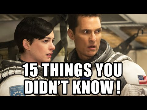15 Things You Didnt Know About Interstellar