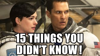 15 Things You Didn't Know About Interstellar