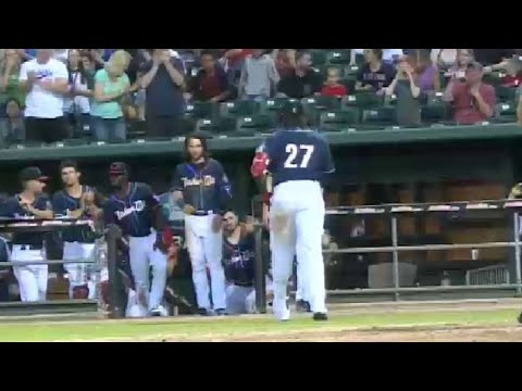 Fisher Cats' Bichette And Guerrero Go Back To Back