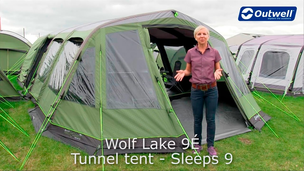 Outwell Wolf Lake 9É - Awarded Best Inflatable Tent in 2017 | Innovative Family C&ing  sc 1 st  YouTube & Outwell Wolf Lake 9É - Awarded Best Inflatable Tent in 2017 ...