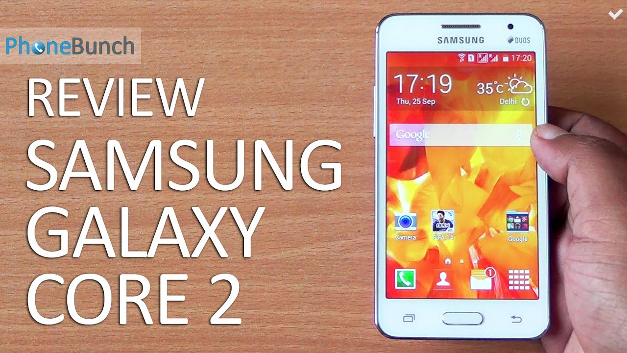 Samsung Galaxy Core 2 Duos Full Review