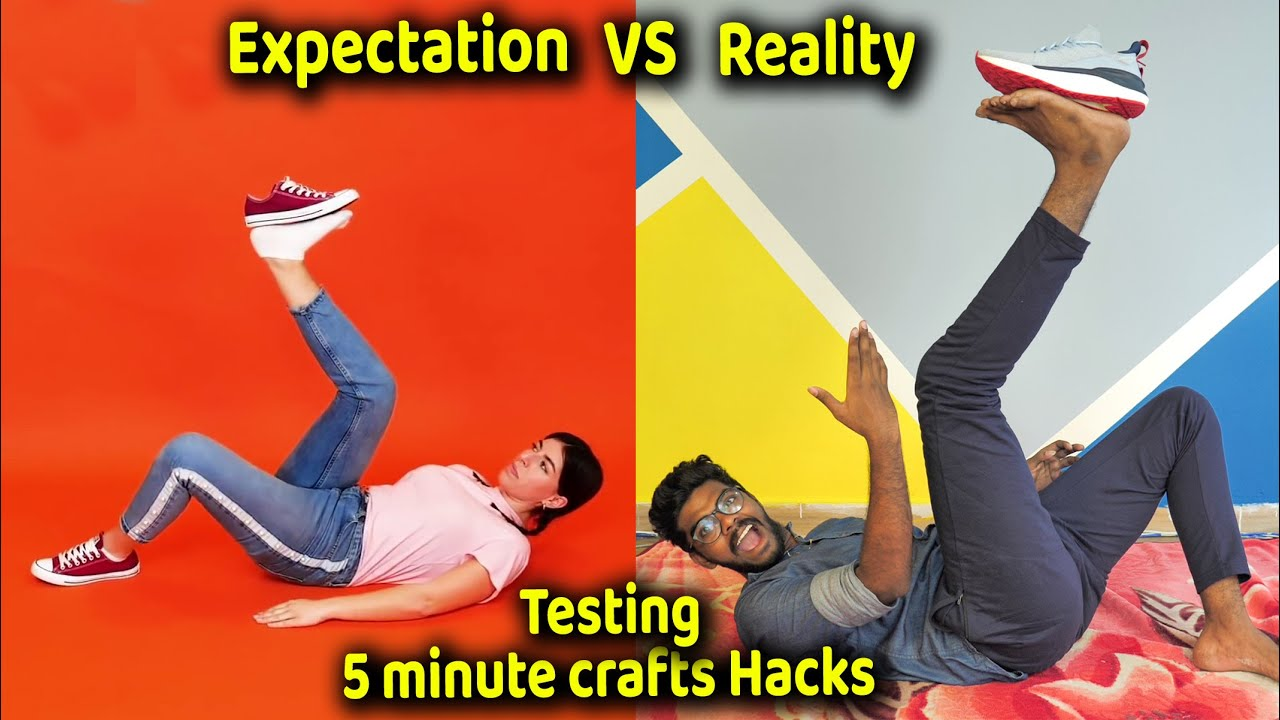 TESTING OUT VIRAL HACKS, Expectation vs Reality by 5 minute crafts | Do It Tamilan
