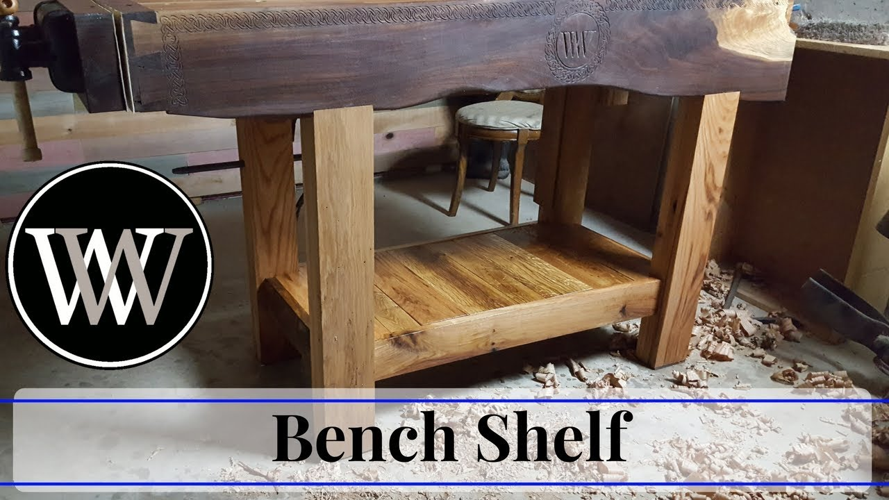 How To Make A Roubo Bench Shelf Hand Tool Woodworking